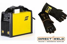 ESAB Buddy ARC 180 Inverter MMA / TIG Welder + ESAB MIG Gloves