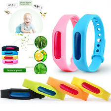 Anti Mosquito Pest Insect Bugs Repellent Repeller Wristband Wrist Band Bracelet
