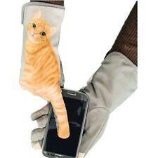 King Star 3D Print Cute Cat Winter Warm Gloves Womens Phone Touch Screen Mittens
