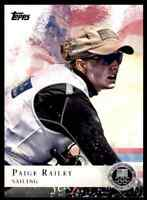 2012 TOPPS OLYMPICS SILVER PAIGE RAILEY SAILING #53 PARALLEL