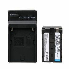 NP-F550 Battery+Charger for Viltrox DC-70EX DC-70 II DC-70HD & LED Video Light