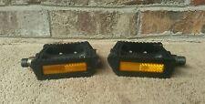 "Retro VP-391 Pedals 9/16"" Resin Road Touring Commuter Hybrid BMX"