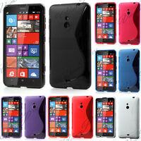 Accessoire Housse Etui Coque TPU Silicone Gel Motif S-Line Seri Nokia Lumia