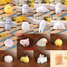1PC Cute Lovely Stretch Japan Animal Mochi Squeeze Toy Soft Press Squishy Doll