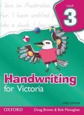 HANDWRITING FOR VICTORIA YEAR 3 - DOUG BROWN & BOB MONAGHAN - 3RD EDITION