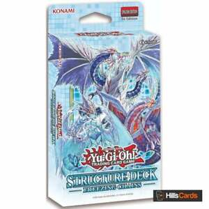 YuGiOh Freezing Chains Structure Deck | New & Sealed | 1st Edition | TCG Cards