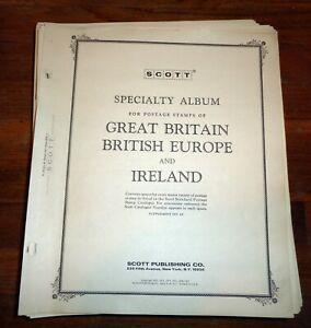 Scott Specialty Album Pages - Great Britain, British Europe, and Ireland