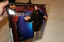 NEW Puppet Master Pinhead Costume Adult Halloween Fancy Dress ONE SIZE