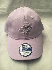 Toronto Blue Jays NEW Toddler Lilac Adjustable Hat . MLB Baseball NWT Girl Gift