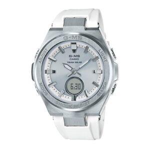 -NEW- Casio G-Shock Women's White Analog / Digital Watch MSGS200-7A