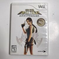 Lara Croft: Tomb Raider Anniversary (Nintendo Wii, 2007) Complete Game TESTED