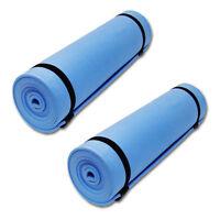 2x Yogamatte 172x60 cm Sportmatte Yoga Pilates Fitness Bodenmatte Fitnessmatte