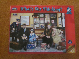 """HOLDSON """"WHAT'S SHE THINKING THE CRITICS"""" 1000 PIECE JIGSAW PUZZLE"""