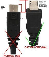 CAT B25 (2PCS) ORIGINAL USB CABLE - FOR ALL MODELS B30 B100 S30 S40 S50 S60