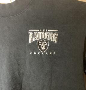 Vintage Lee Sports Oakland Raiders NFL Football Shirt Long Sz XL