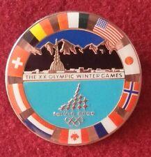 Insigne des XXeme jeux olympiques d'hiver de Turin 2006 (35mm)