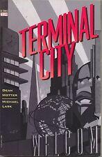 Terminal City 1 TPB Vertigo 1997 VF 1 2 3 4 5 6 7 8 9 1st Printing Motter Lark