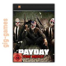 PAYDAY The Heist PC spiel Steam Download Digital Link DE/EU/USA Key Code Gift