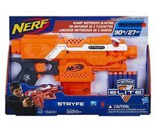 NEW Box Nerf N Strike Elite Orange Stryfe Blaster Toy Dart Motorized Blaster Gun