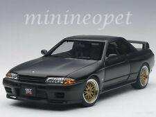 AUTOart 77418 NISSAN SKYLINE GT-R R32 V-SPEC II TUNED VERSION 1/18 MATTE BLACK
