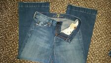 NWOT 7 For All Mankind Crop DOJO Jeans pants 24