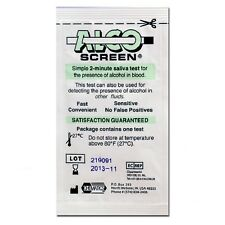5 Alco-Screen Tests - Saliva Alcohol Test - AlcoScreen