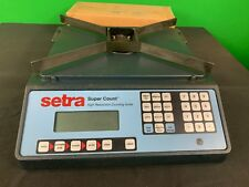 Setra Super Count High Resolution Counting Scale 25kg 55lbs 25000G Capacity