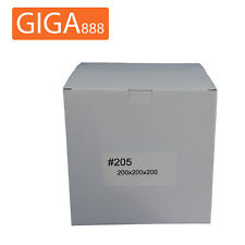 200 x Brand New Mailing Box 200x200x200mm Shipping Packing White Cardboard