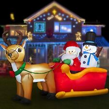 #6 Giant inflatable Snowman Outdoor Christmas Ornaments