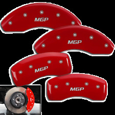 "2015-2017 Jeep Renegade Front + Rear Red ""MGP"" Brake Disc Caliper Covers 4pc Set"