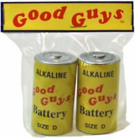 Trick Or Treat Studios Chucky Child's Play 2 Good Guys Doll Batteries IN STOCK