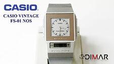 VINTAGE CASIO FS-01 NOS DUAL TIME