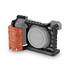 SmallRig A6500 Camera Cage with Wooden Handgrip for Sony A6500 2097