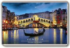 Venice Gondola, Rialto bridge Fridge Magnet 06 Free Postage