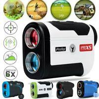 6X 1300yds LCD Golf Laser Range Finder Rangefinder Distance Height Speed Meter