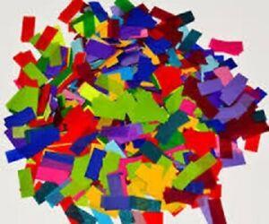 Confetti MULTI Tissue per pound flameproof confetti rectangular Paper confetti