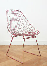 Pastoe Cees Braakman sm05 Chaise design Wire chair Bertoia String Stool Chaise II
