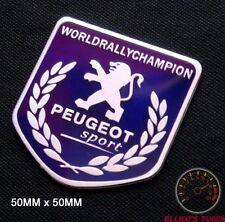 PEUGEOT SPORT BADGE EMBLEM - 208 5BU 107 206 207 GTI WRC TURBO 205 306 307 CC