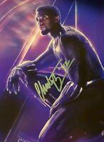 Chadwick Boseman Autographed Signed 8x10 Photo ( Black Panther Movie ) REPRINT