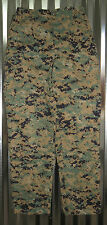 USMC WOODLAND MARPAT MUCCUU PANTS TROUSERS SMALL REGULAR CAMMIE UTILITIES