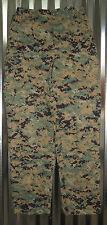 USMC WOODLAND MARPAT MUCCUU PANTS TROUSERS SMALL REGULAR CAMMIE UTILITIES