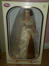 "Disney Rapunzel Tangled Wedding Dress Bride Doll 17"" NEW Limited Edition 1/8000"