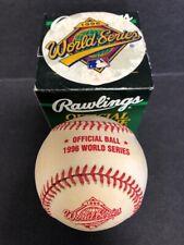 1996 Rawlings Official World Series MLB Baseball
