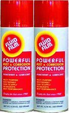 Fluid Film 333G (11.75 oz) Aerosol Spray Can - Rust Preventative Spray  2 cans