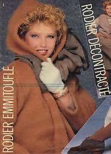 PUBLICITE  1977   RODIER  tricots pulls manteaux