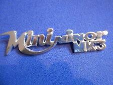 Stemma Abzeichen Innocenti mini minor mk 3 MK3 badge scritta logo Scritta bomisa
