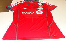 2014 Toronto FC MLS Soccer Football Home Jersey Red ClimaCool XL Canada Ladies
