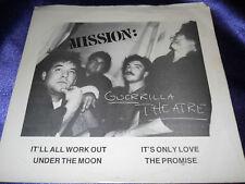 Hear Rare Gothic Rock New Wave EP: Mission - Guerrilla Theatre - post punk w/ PS