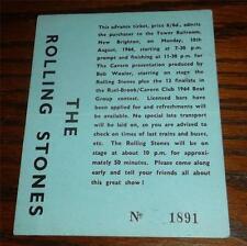 Rolling Stones ticket New Brighton Tower Ballroom 10-08-64
