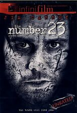 BRAND NEW DVD // NUMBER 23 //Jim Carrey,  Virginia Madsen,  Logan Lerman